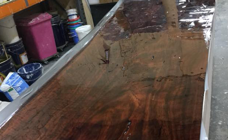 Red-Gum Table Top