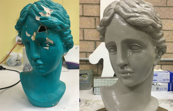 Restoring Antiques - Claire Tennant Workshop